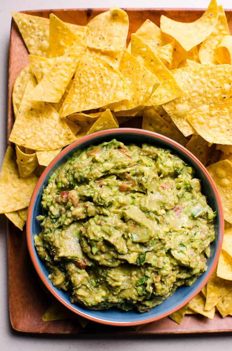 5 Ingredient Salsa Guacamole Ifoodreal Com Healthy Family Recipes
