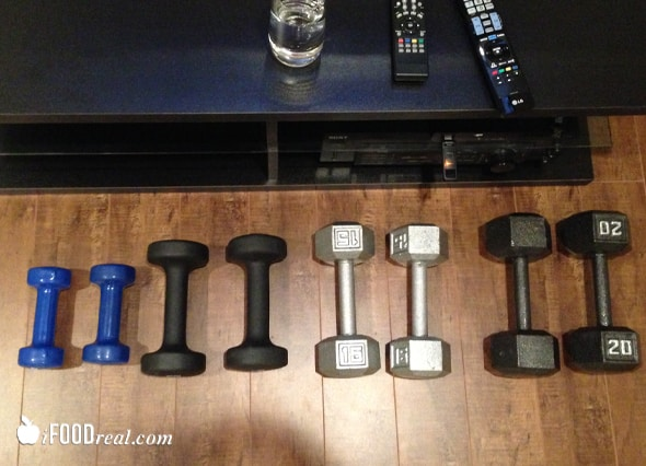 My home workout space, equipment & routine