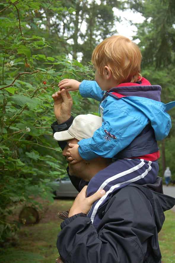Creating Memories at the Deception Pass