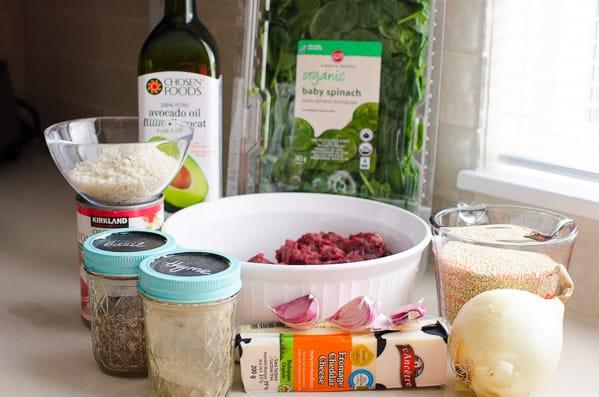 Ground Turkey Casserole Ingredients