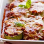 Light Zucchini Parmigiana Recipe