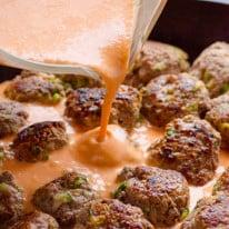 FG1-30Minute-Clean-Skillet-Thai-Turkey-Meatballs