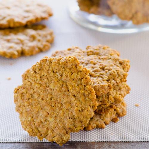 Healthy Oatmeal Cookies Recipe - iFOODreal