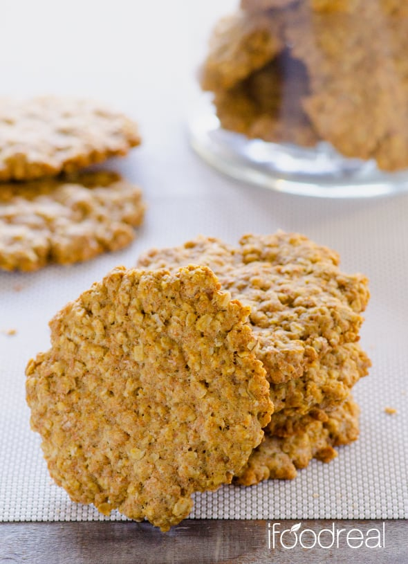 Healthy Oatmeal Cookies Recipe With Whole Wheat Flour Coconut Oil And Just Like Grandma