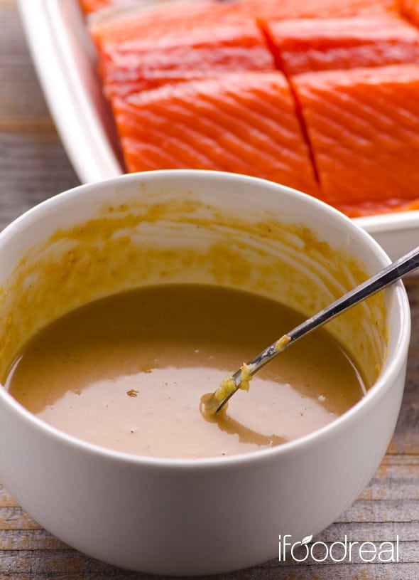 Peanut Butter Salmon With Miso Ifoodreal Healthy