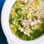 Grandma's Slow Cooker Chicken Noodle Soup
