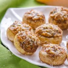 Stuffed Parmesan Mushrooms Recipe