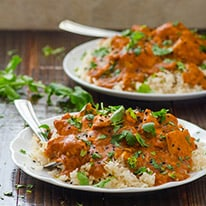 Crock Pot Butter Chicken