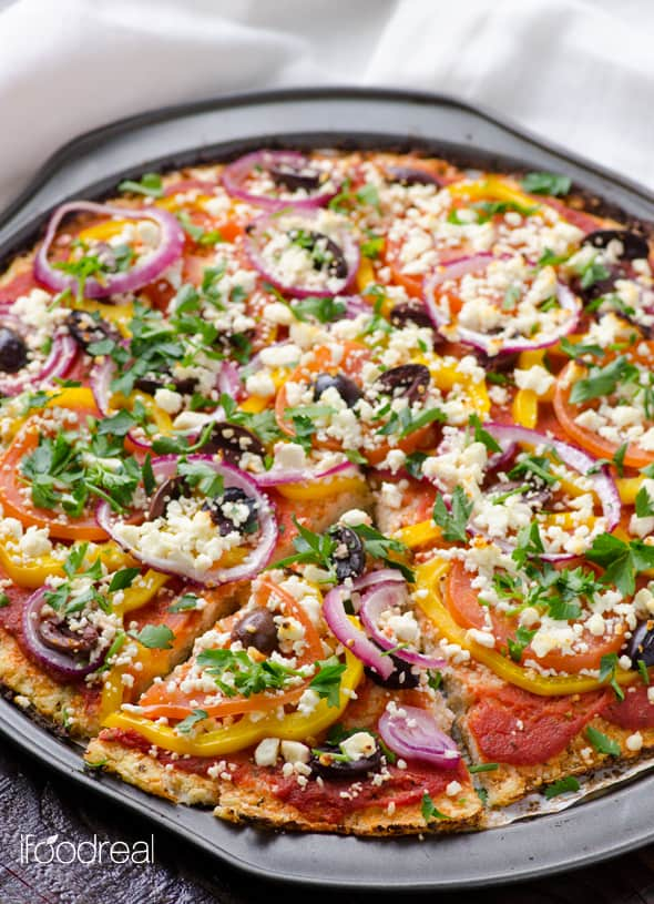 best cauliflower pizza crust
