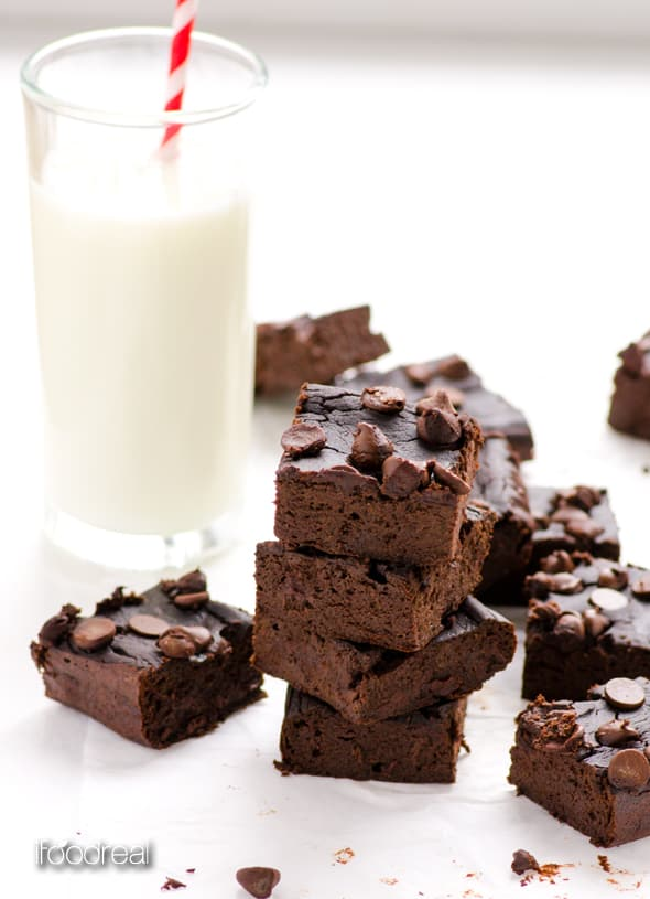 Black Bean Brownies Recipe - iFOODreal
