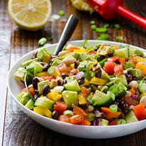Mexican Bean Salad Recipe