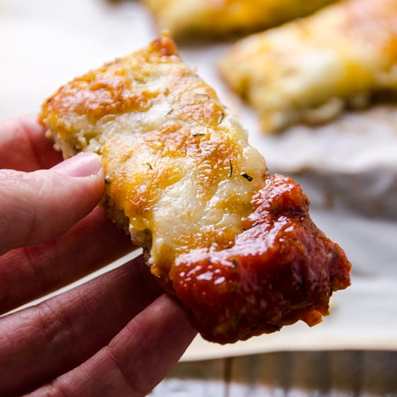 Cauliflower Breadsticks - iFOODreal - Healthy Family Recipes