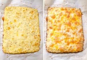 Cauliflower Breadsticks Recipe