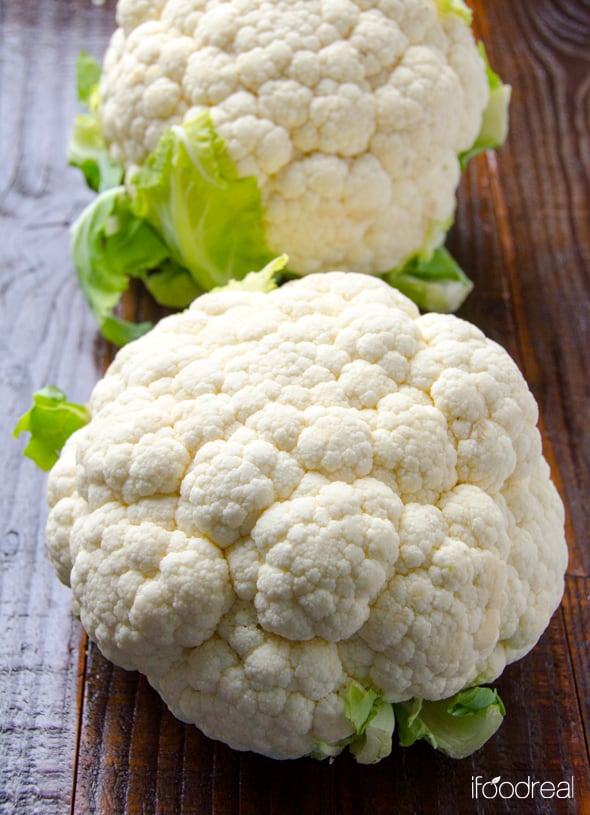 2 heads of cauliflower