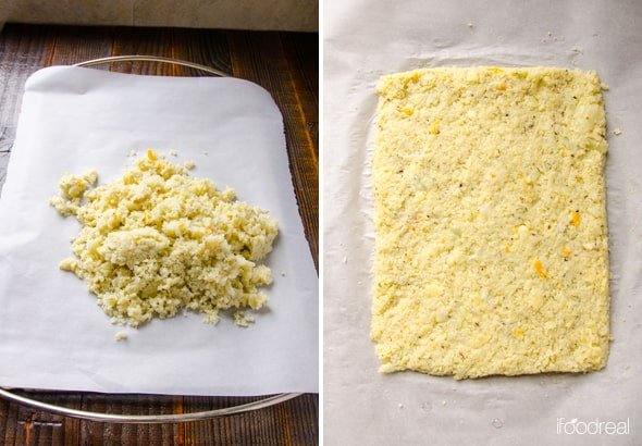 How to Make Cauliflower Breadsticks step by step