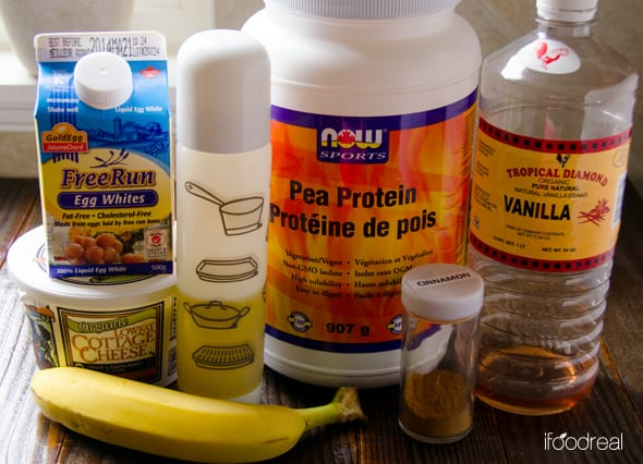 Cottage Cheese Protein Pancakes  ingredients