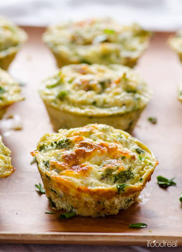 Quinoa Egg Muffins With Broccoli Ifoodreal Healthy