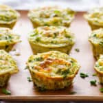Quinoa Egg Muffins with Broccoli