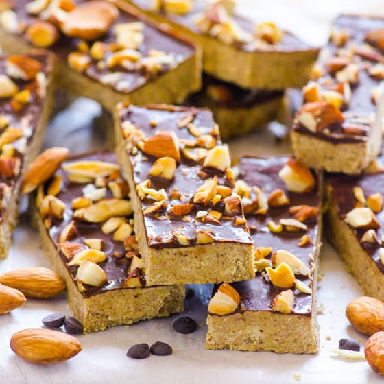 Homemade Protein Bars - iFOODreal - Healthy Family Recipes