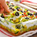 Greek Salad Layered Dip Recipe