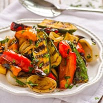 Grilled Balsamic Vegetables - iFOODreal