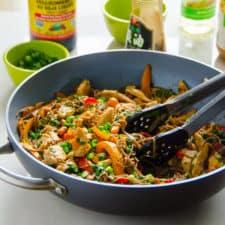 Peanut Chicken Soba Noodles