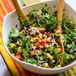 Creamy Mexican Kale Salad