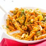 Healthy One Pan Penne with Broccoli Recipe