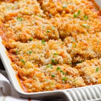 Spaghetti Squash Casserole