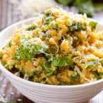 Parmesan Pumpkin and Spinach Quinoa Recipe