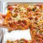 Easy Sweet Potato Pizza Crust