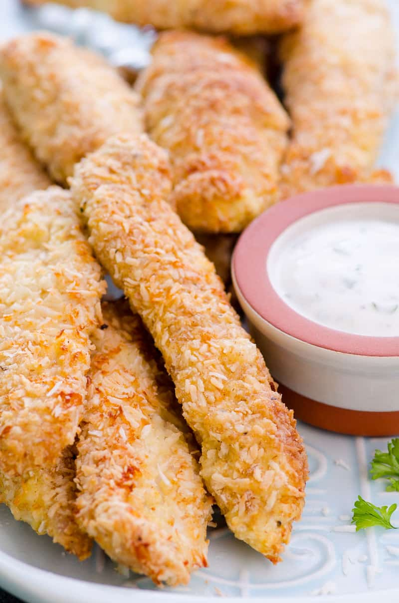 Recipe for healthy baked chicken tenders