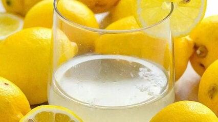 How to Make Lemon Water (Video)
