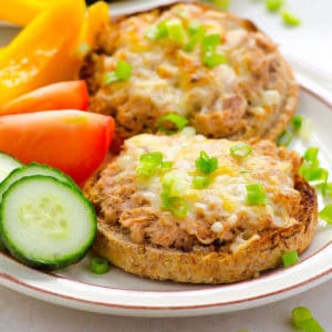 Healthy Tuna Melt Recipe