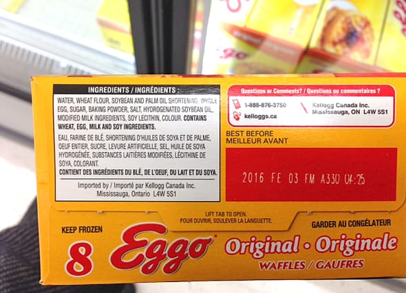 are eggo waffles healthy?