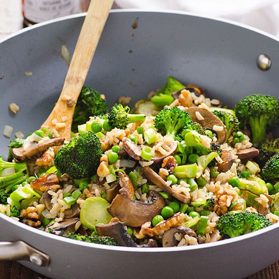 Recipes With Chicken Rice Broccoli: Broccoli Mushroom Stir Fry