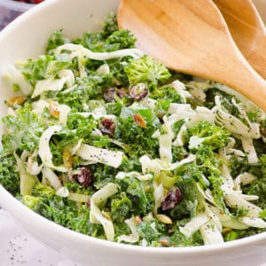 Sweet Kale Salad Recipe