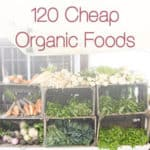 Organic on a Budget – 120 Cheap Organic Foods