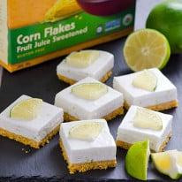 Healthy Key Lime Pie Bars