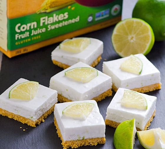 Healthy Key Lime Pie Bars