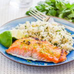 lime ginger salmon recipe clean eating