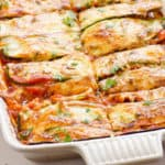 Chicken Zucchini Enchilada Casserole Recipe