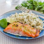 Lime Ginger Salmon