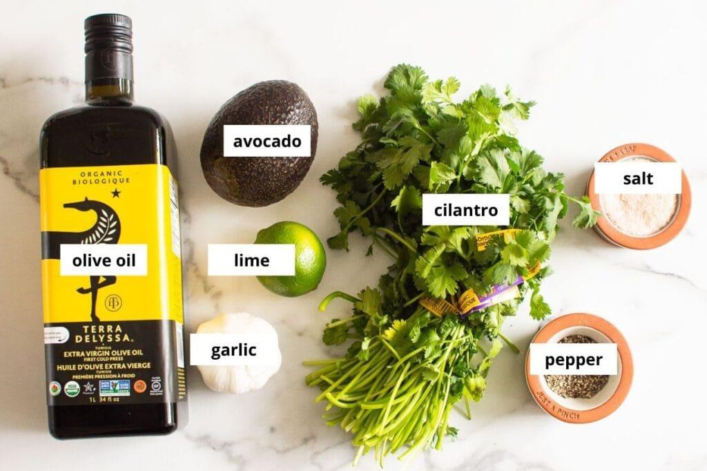 avocado cilantro dressing ingredients