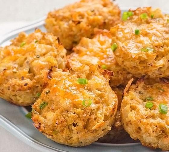 Cauliflower Biscuits