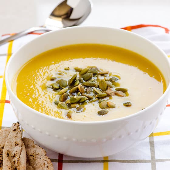 Healthy Easy Pumpkin Soup