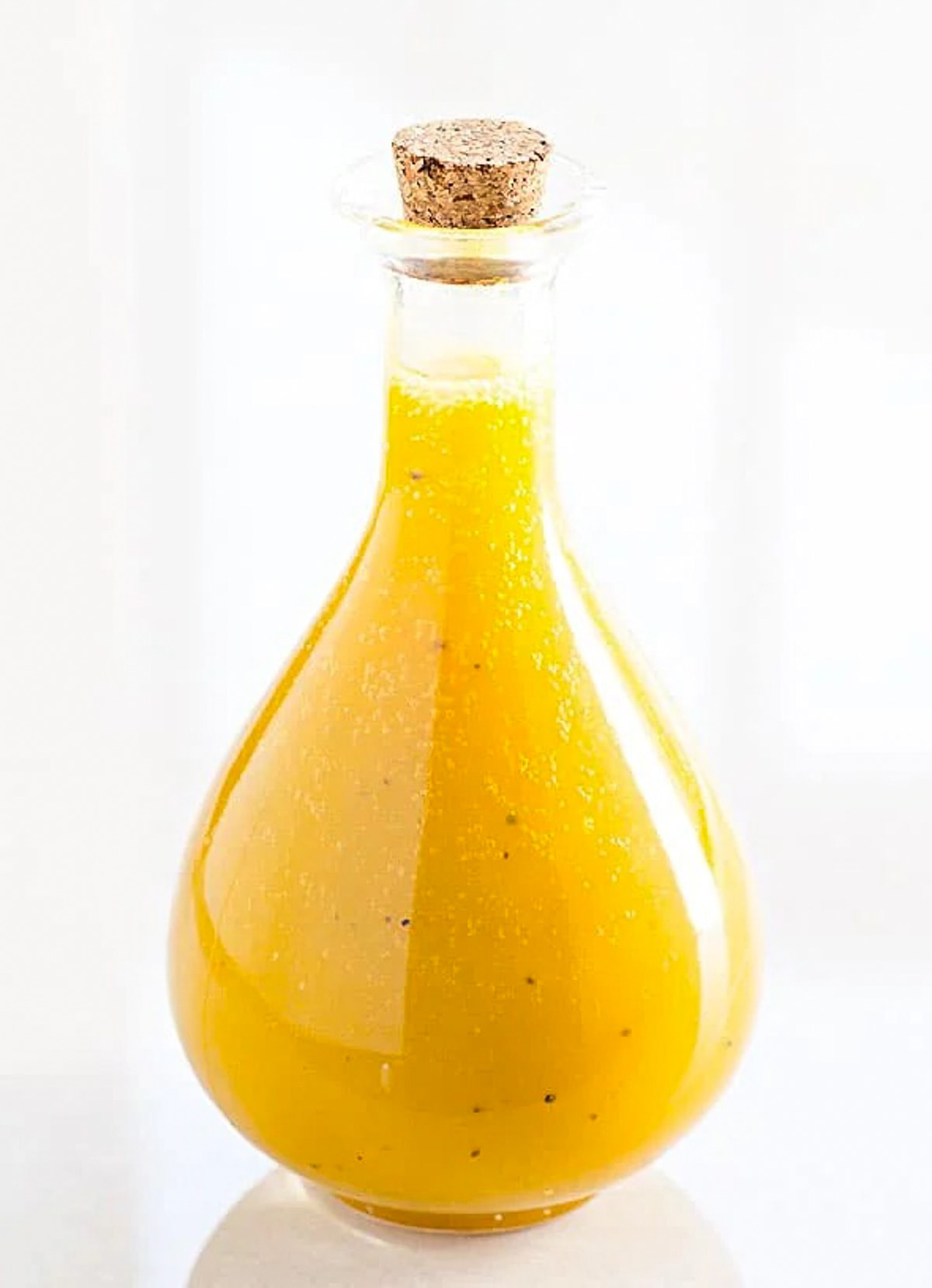 Healthy Honey Mustard Dressing Recipe that is great for dipping, chicken or salads. | ifoodreal.com