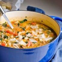 creamy minestrone soup recipe