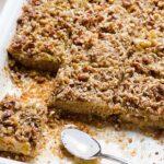 honey apple oat bars recipe clean eating
