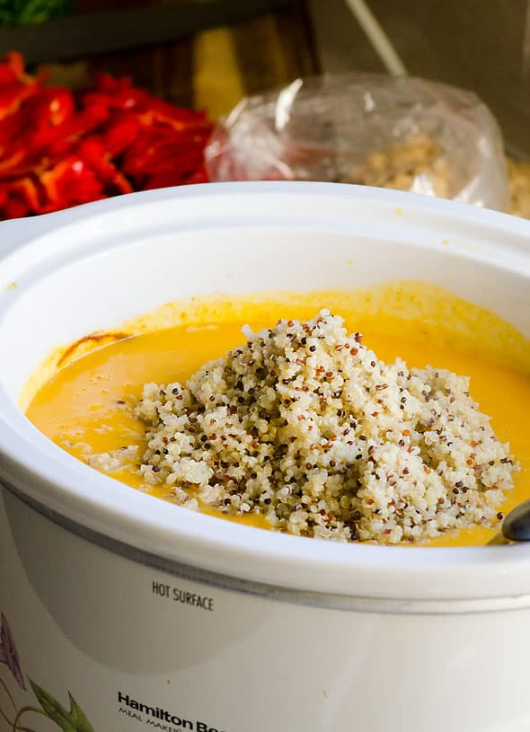 Butternut Squash Soup With Quinoa Recipe — Dishmaps